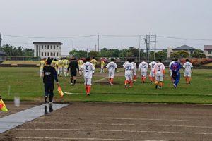 対亀山FC試合入場シーン